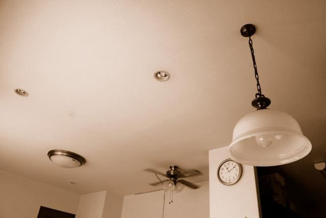 天井家電で狭い部屋をスタイリッシュに…シーリングはライトだけじゃない
